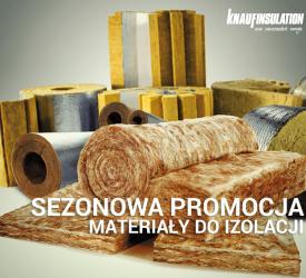 Sezonowa promocja na izolacje Knauf Insulation